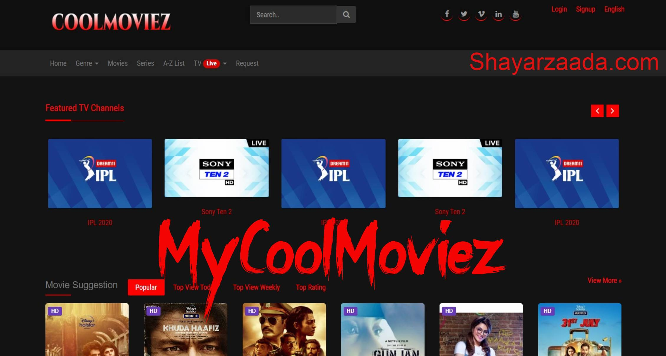 Coolmoviez 2021: Illegal Movies Download Site | Shayarzaada